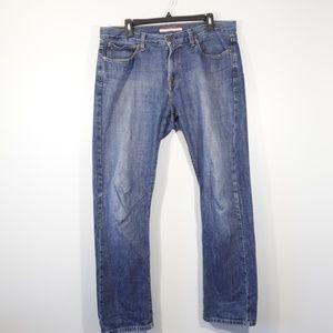 Tommy Hilfiger Straight Leg Jeans - 34x32